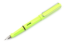 Lamy Safari Fountain Pen - Neon Lime - Medium Nib - LAMY L43M