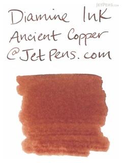 Diamine Ancient Copper Ink - 18 Cartridges - DIAMINE INK 8086