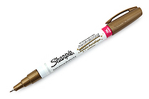 Sharpie Oil-Based Paint Marker - Extra Fine Point - Metallic Gold - SHARPIE 35532