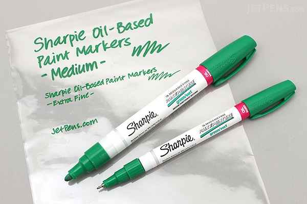 sharpie oil based paint marker extra fine point black