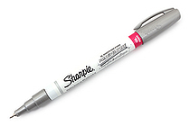 Sharpie Oil-Based Paint Marker - Extra Fine Point - Metallic Silver - SHARPIE 35533