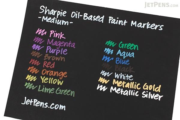 Sharpie Oil-Based Paint Marker - Medium Point - Purple - SHARPIE 35556