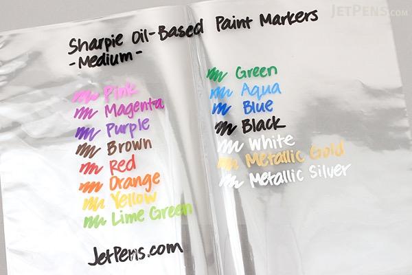 Sharpie Oil-Based Paint Marker - Medium Point - Orange - SHARPIE 35557
