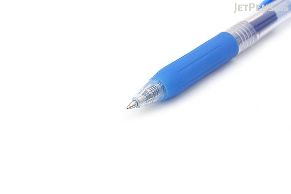 Zebra Sarasa Push Clip Gel Pen - 0.7 mm - Pale Blue - ZEBRA JJB15-PB