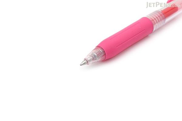 Zebra Sarasa Push Clip Gel Pen - 0.7 mm - Pink - ZEBRA JJB15-P