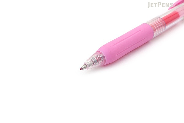Zebra Sarasa Push Clip Gel Pen - 0.7 mm - Light Pink - ZEBRA JJB15-LP