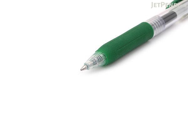 Zebra Sarasa Push Clip Gel Pen - 0.7 mm - Viridian - ZEBRA JJB15-VIR