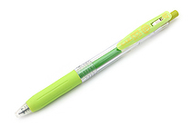 Zebra Sarasa Push Clip Gel Pen - 0.7 mm - Light Green - ZEBRA JJB15-LG