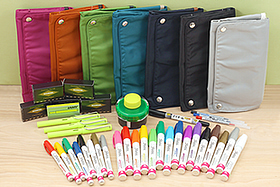 New Products: Convenient Bag-in-Bags, Lamy Safari Neon Collection, Colorful Paint Markers, Japanese Name Markers, and More!