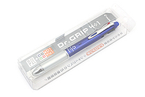 Pilot Dr. Grip 4+1 4 Color 0.7 mm Ballpoint Multi Pen + 0.5 mm Pencil - Blue Body - PILOT PBKHDF1SF-L
