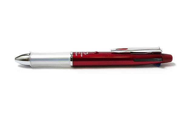 Pilot Dr. Grip 4+1 4 Color 0.7 mm Ballpoint Multi Pen + 0.5 mm Pencil - Bordeaux Body - PILOT PBKHDF1SF-BO