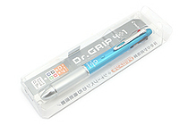 Pilot Dr. Grip 4+1 4 Color 0.7 mm Ballpoint Multi Pen + 0.5 mm Pencil - Light Blue Body - PILOT PBKHDF1SF-LB
