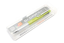 Pilot Dr. Grip 4+1 4 Color 0.7 mm Ballpoint Multi Pen + 0.5 mm Pencil - Light Green Body - PILOT PBKHDF1SF-LG