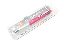 Pilot Dr. Grip 4+1 4 Color 0.7 mm Ballpoint Multi Pen + 0.5 mm Pencil - Pink Body - PILOT PBKHDF1SF-P