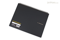 Maruman Mnemosyne N180A Imagination Notebook - A4 - 5 mm Graph - MARUMAN N180A