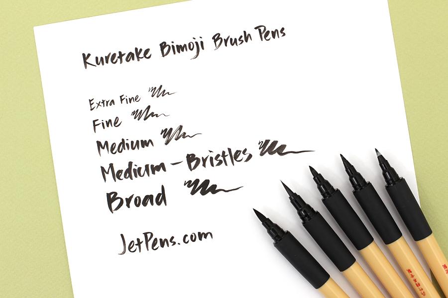 Kuretake Bimoji Brush Pen - Extra Fine - KURETAKE XT1-10S