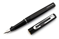 Jinhao 599 Metal Fountain Pen - Medium Nib - Black - JINHAO 599-1