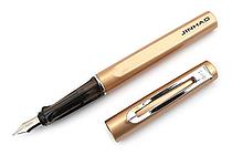 Jinhao 599 Metal Fountain Pen - Gold - Medium Nib - JINHAO 599-14
