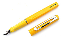 Jinhao 599 Metal Fountain Pen - Medium Nib - Yellow - JINHAO 599-3