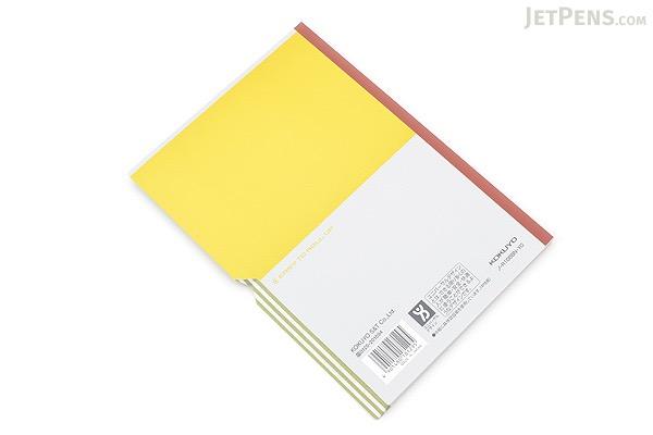 Kokuyo Campus Paracuruno Slanted Page Notebook - A5 - Lime Green - KOKUYO NO-R108B-YG