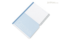 Kokuyo Campus Paracuruno Slanted Page Notebook - A5 - Gray - NO-R108UN-M