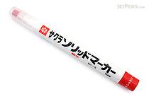 Sakura Solid Marker - Fine - Vermilion - SAKURA SC-S#119