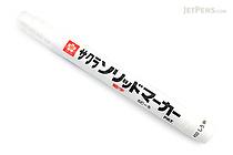 Sakura Solid Marker - Fine - White - SAKURA SC-S#50