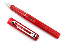 Jinhao 599A Fountain Pen - Medium Nib - Red - JINHAO 559A-11