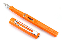 Jinhao 599A Fountain Pen - Medium Nib - Orange - JINHAO 559A-8