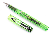 Jinhao 599A Transparent Fountain Pen - Green - Medium Nib - JINHAO 599A-1