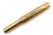Kaweco Brass Sport Fountain Pen - Broad Nib - KAWECO 10000919