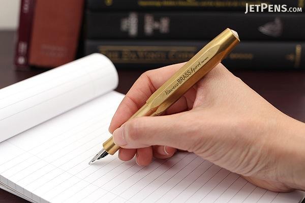Kaweco Brass Sport Fountain Pen - Extra Fine Nib - KAWECO 10000916