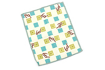 Kurochiku Taisetsu Microfiber Cleaning Cloth for Glasses - Megane Ichimatsu (Glasses Checkered) - KUROCHIKU 41009609