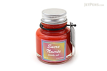 J. Herbin Red Ink - Pearlescent - for Dip Pen - 30 ml Bottle - J. HERBIN H132/20