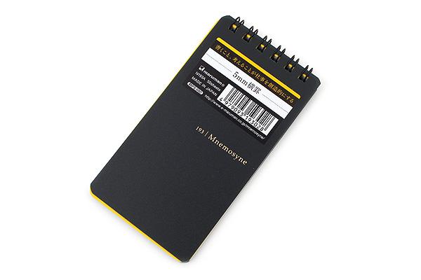 Maruman Mnemosyne Notepad - Twin Ring - Modified A7 - 5 mm Rule - MARUMAN N193A