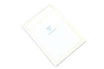 Clairefontaine Triomphe Notepad - A5 - Blank - 50 Sheets - CLAIREFONTAINE 6120