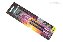 Uni-ball Signo 207 Retractable Gel Pen Refill - 0.7 mm - Blue - Pack of 2 - UNI-BALL 71207PP