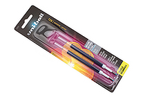 Uni-ball Signo 207 Retractable Gel Pen Refill - 0.7 mm - Blue - Pack of 2 - SANFORD 71207PP