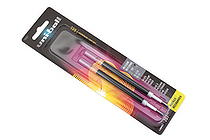Uni-ball Signo 207 Retractable Gel Pen Refill - 0.7 mm - Black - Pack of 2 - UNI-BALL 70207PP