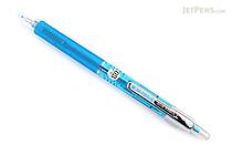 Pilot Hi-Tec-C Slim Knock Gel Pen - 0.3 mm - Clear Blue - PILOT LHS-20C3-CL