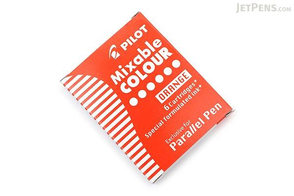 Pilot Parallel Pen Refill - Orange - 6 Cartridges - PILOT IRFP-6S-O