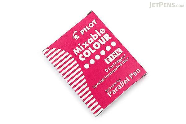 Pilot Parallel Calligraphy Pen Refill - Pink - Pack of 6 - PILOT ICP36PNK