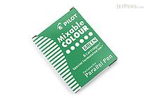 Pilot Parallel Pen Refill - Green - 6 Cartridges - PILOT ICP36GRN
