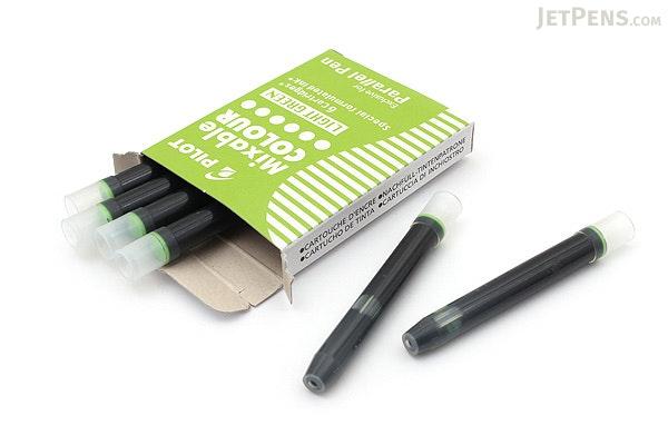 Pilot Parallel Calligraphy Pen Refill - Light Green - Pack of 6 - PILOT IRFP-6S-LG