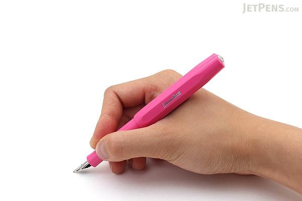 Kaweco Skyline Sport Fountain Pen - Pink - Broad Nib - KAWECO 10000924