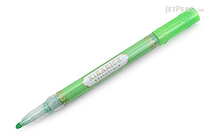 Zebra Kirarich Glitter Highlighter - Green - ZEBRA WKS18-G