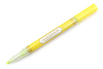 Zebra Kirarich Glitter Highlighter - Yellow - ZEBRA WKS18-Y