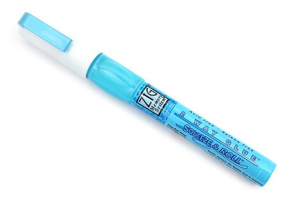 Kuretake Zig 2 Way Glue Pen - Fine Ballpoint - KURETAKE MSB-10M
