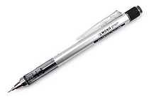 Tombow Mono Graph Shaker Mechanical Pencil - 0.5 mm - Silver - TOMBOW SH-MG04