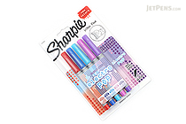 Sharpie Electro Pop Permanent Marker - Ultra Fine Point - 5 Color Set - SHARPIE 1919848